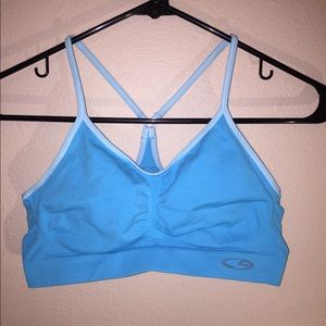 Champion Blue Sports Bra